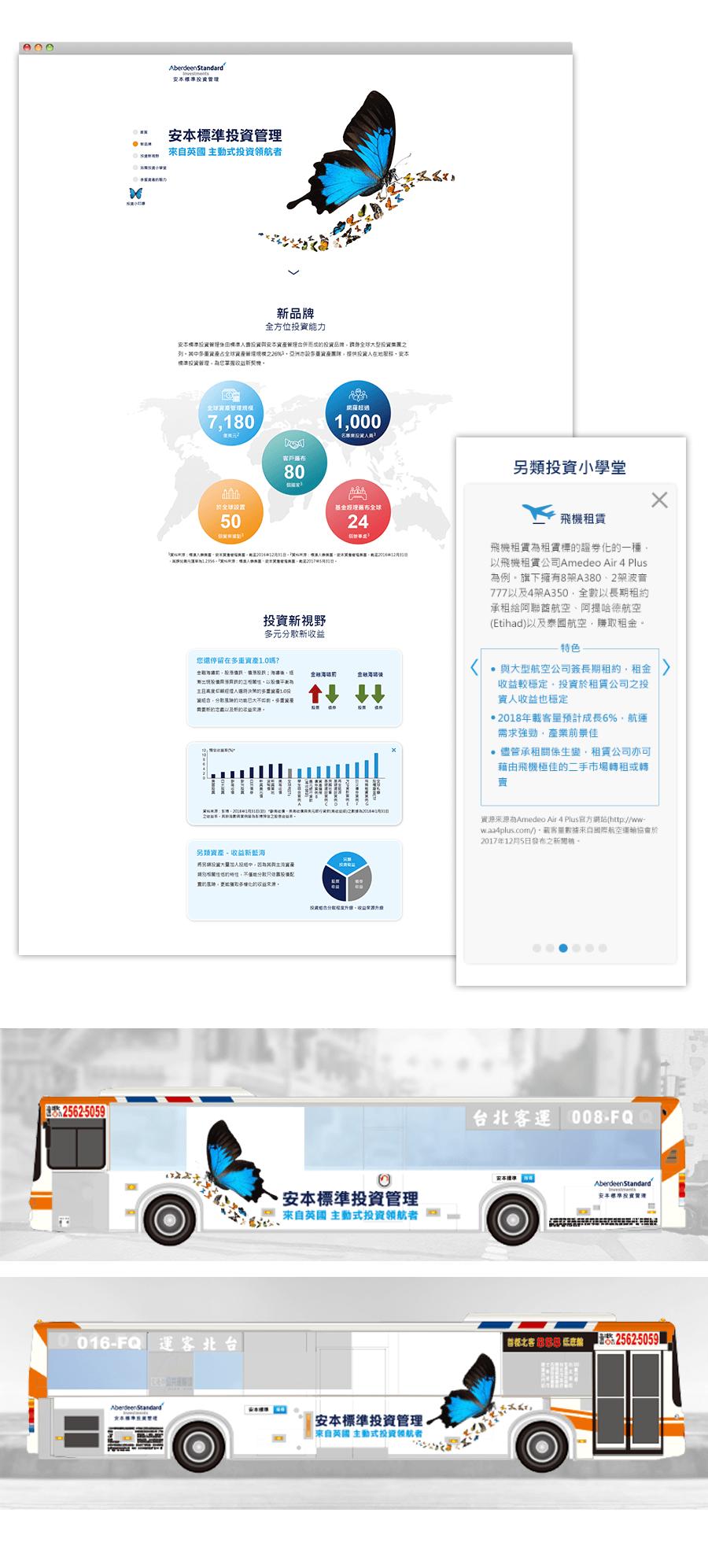 安本標準投資管理 品牌行銷 活動網站