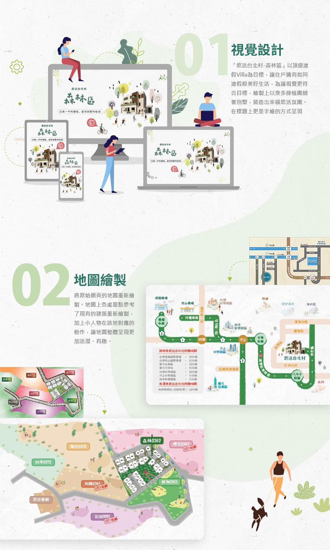 合冠建設 悠活台北村森林區 活動網站 廣告素材